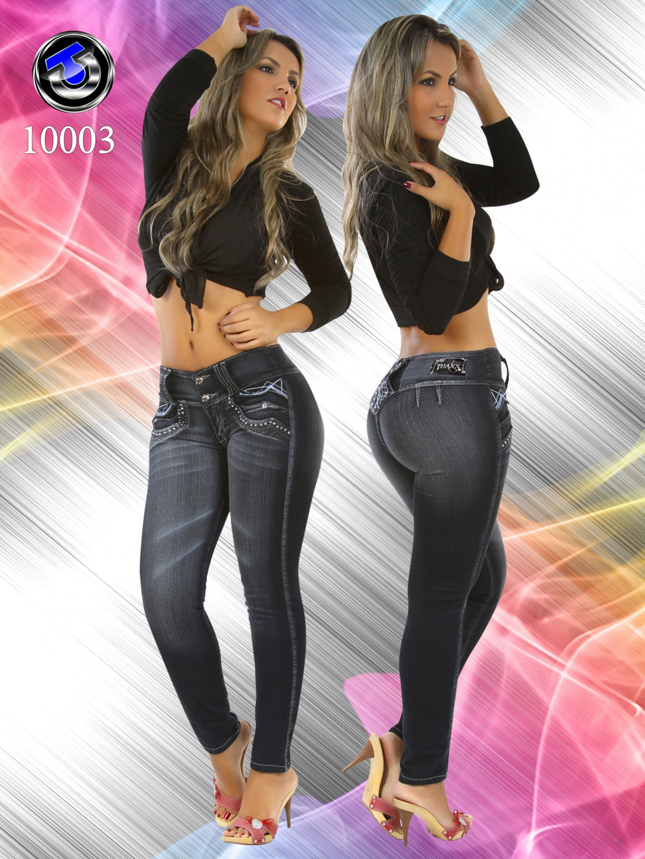 Vestir De Sentido Sobre Los Jeans Sin Bolsillos Colombianos